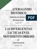 Materialismo y Las Divergencias en El ,Movimiento Obrero%2