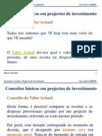 Projectos Investimento - PARTEI.alunOS