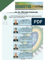 noticiário do exército - promoção de oficiais generais março 2011