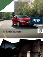 Volvo MY12 S60 Brochure