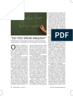 [Gestão Educacional] Do You Speak English