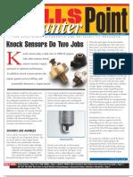 Knock Sensor Info
