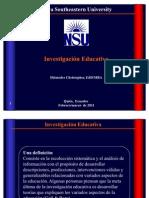 Curso de Investigación Educativa