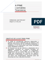 Diferencia PCG vs NIIF