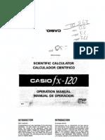 Casio fx-120