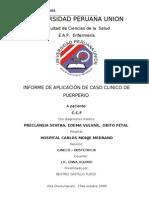 PROCESO  DE PUERPERIO  08-10-09