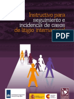 Instructivo para seguimiento e incidencia de casos de litigio internacional - español