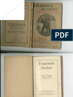 Unarmed Action, Training Handbook For The Forces - Micky Wood 1942