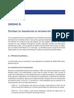 UNIDAD 8 - Sistema de transmisión de información