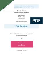 Web Marketing(DaniloRojevic OlivierPerroud