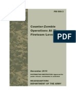 FM 999-3 Counter-Zombie Operations at the Fireteam Level v1.1