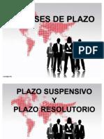 5. CLASES DE PLAZO