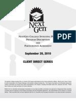 NextGen Direct Program Description