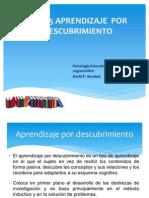AprendizajePorDescubrimiento_Ausubel