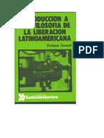 Enrique Dussel-Introducción a una Filosofía de la Liberación Latinoamericana