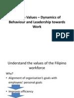 Filipino Values – Dynamics of Behaviour and Leadership