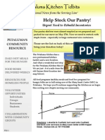 Petaluma Kitchen Newsletter Summer 2011