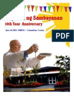 ang misa ng sambayanan 10th year anniversary final
