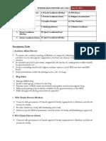 RMSA Executive Committee Descriptions 11-12