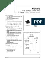 ST Flash Memory M50FW040