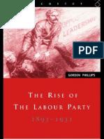 【工党的崛起】The Rise of the Labour Party 1893-1931