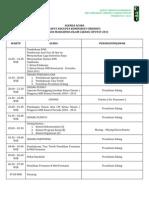 Agenda Acara Rak 2011-2012