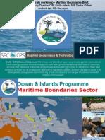 DSM Workshop SOPAC OIP 2011 Maritime Boundaries Status
