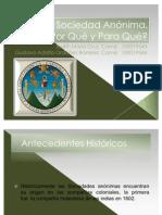 PresentaciónSociedadAnónima