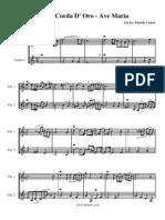 La Corda d'Oro - Ave Maria (Violin Duet)
