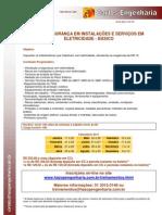 NR 10 SEGURANÇA EM INSTALAÇÕES E SERVIÇOS EM ELETRICIDADE - BÁSICO