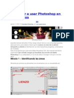 Aprender a Usar Photoshop en 10 Minutos