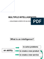 Multiple Intelligences G9