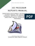 As400 Program Reports