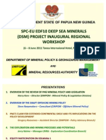 PNG Presentation - DSM Project Workshop - Fiji 6-8June 2011