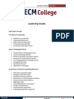 Leadership Studies