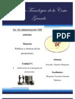 PROGRAMA DE PRESTACIONESIII