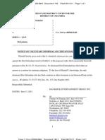 061511 Maverick Entertainment Group - Minor Dismissals