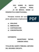 Principios Rectores Del Nuevo Proceso Penal