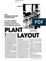 Plant Layout - Part 1 Minimizing Problems in Plant Layout