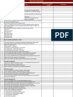 Data Center Audit Checklist