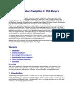 Inter-Application-Navigation in Web Dynpro