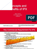 GSMA - Concept and Benefit for IPX