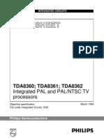 TDA8361 PDF
