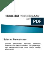 FISIOLOGI PENCERNAAN - Copy
