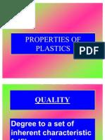 Properties of Plastics