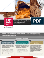 Iraq Packaged Foods Opportunity