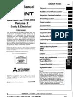 mitsubishi galant circuit diagrampdf electronic