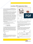 Power Factor Correction (PFC) Application Notes