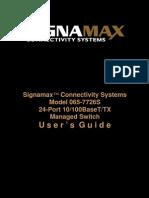 065-7726S User Manual
