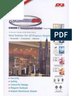 SKB All Aluminium Vision 7 Transparent Shutter
